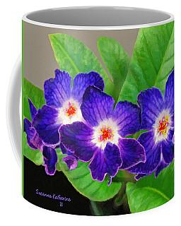 Stunning Blue Flowers Coffee Mug