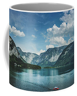 Stunning Lake Hallstatt Panorama Coffee Mug