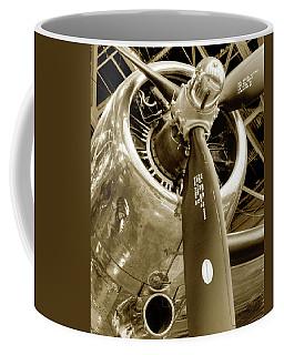 Stunning Propeller In Sepia Coffee Mug
