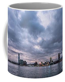 Stunning Sunset Over Kowloon In Hong Kong Coffee Mug