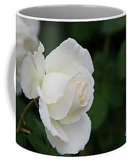 Stunning White Tineke Rose Coffee Mug