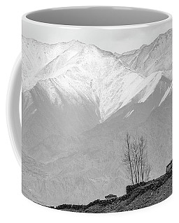 Stupa And Trees Coffee Mug