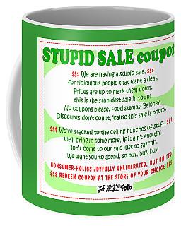 Real Fake News Stupid Sale Ad Coffee Mug