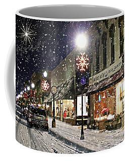 Sturgeon Bay On A Magical Night Coffee Mug