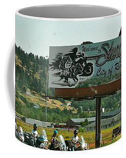 Sturgis City Of Riders Coffee Mug