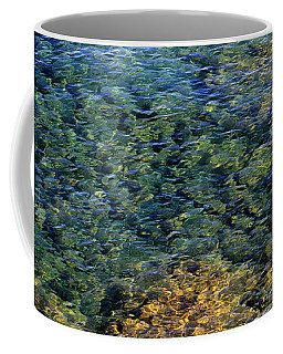 Submerged Rocks At Lake Superior Coffee Mug