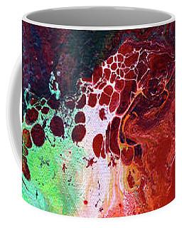 Subtle Vibrations, Canvas Five Of Five Coffee Mug