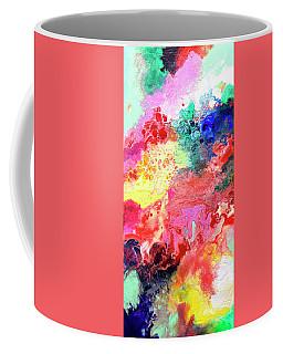 Subtle Vibrations, Canvas Four Of Five Coffee Mug