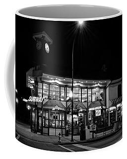 Subway Of Gatlinburg In Black And White Coffee Mug