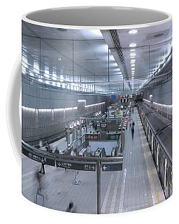 Subway Station Interior Coffee Mug