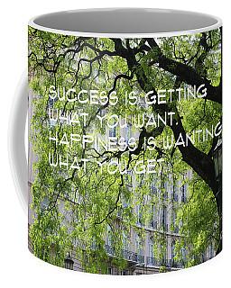 Success And Happiness Coffee Mug