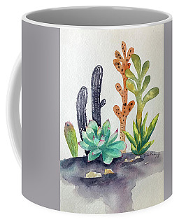 Succulents Desert Coffee Mug