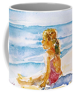 Coffee Mug featuring the painting Such A Perfect Day  by Trudi Doyle
