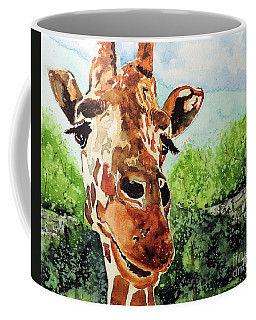 Coffee Mug featuring the painting Such A Sweet Face by Tom Riggs