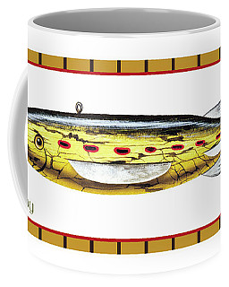 Sucker Ice Fishing Decoy Coffee Mug