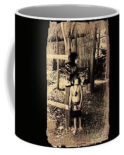 Coffee Mug featuring the photograph Sucua Kids 895 by Al Bourassa