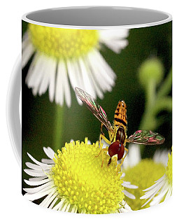 Coffee Mug featuring the photograph Sugar Bee Wings by Meta Gatschenberger
