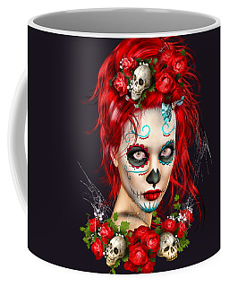 Sugar Doll Red Coffee Mug