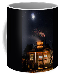 Sugar House At Night Coffee Mug