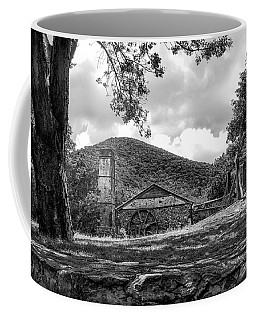 Sugar Plantation Ruins Bw Coffee Mug