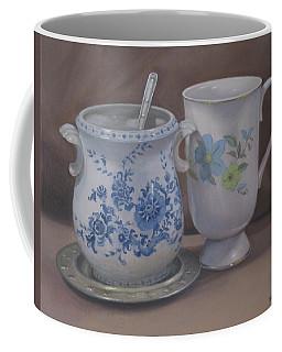Sugarbowl And Teacup Coffee Mug