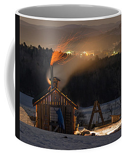 Sugaring View Coffee Mug by Tim Kirchoff