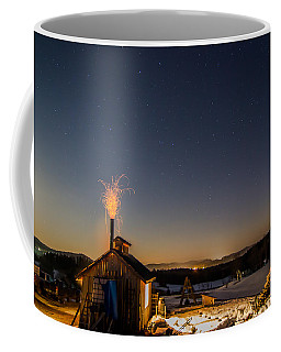 Sugaring View With Stars Coffee Mug