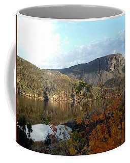 Coffee Mug featuring the photograph Sugarloaf Hill In Autumn by Barbara Griffin
