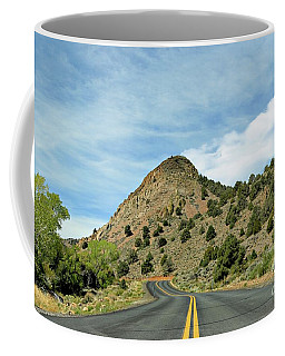 Coffee Mug featuring the photograph Sugarloaf Mountain In Six Mile Canyon by Benanne Stiens