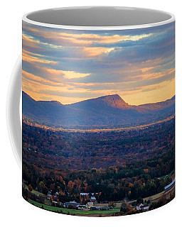 Sugarloaf View, South Deerfield, Ma Coffee Mug
