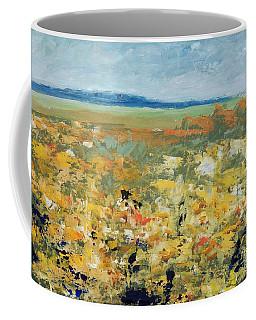 Suggestion Of Flowers Coffee Mug