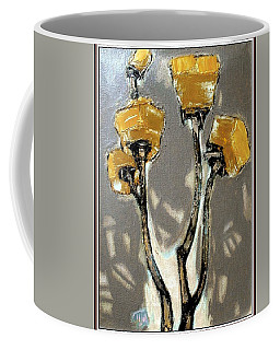 Suggestion Of Orange Flowers  Coffee Mug