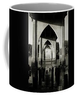 Suislaw River Bridge In Florence Oregon Coffee Mug