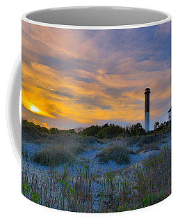 Sullivan's Island Lighthouse At Dusk - Sullivan's Island Sc Coffee Mug