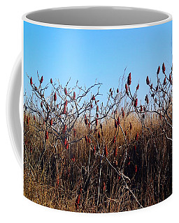 Sumac At The Beach Coffee Mug