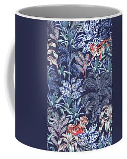 Sumatran Tiger, Blue Coffee Mug