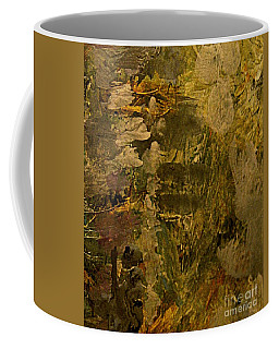 Coffee Mug featuring the painting Sumerian Ruins  by Nancy Kane Chapman
