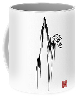 Sumi-e - Bonsai - One Coffee Mug