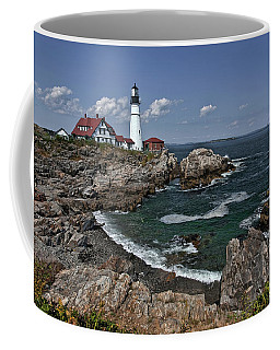 Summer Afternoon, Portland Headlight Coffee Mug