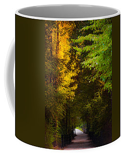 Summer And Fall Collide Coffee Mug by Parker Cunningham