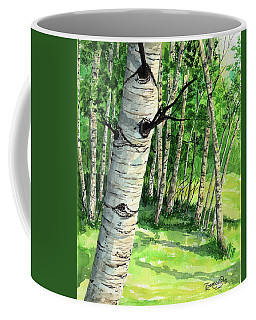 Summer Aspen Coffee Mug