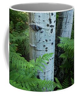 Summer Aspen Abstract Coffee Mug