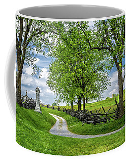 Coffee Mug featuring the photograph Summer At Antietam National Battlefield by Lori Coleman