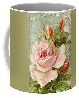 Summer At Cape May - Porch Roses Coffee Mug