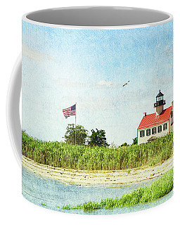 Summer At East Point Lighthouse Coffee Mug