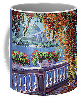 Summer At Lake Como Coffee Mug