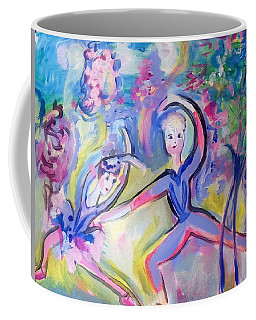 Summer Ballet In Tune With Romance  Coffee Mug by Judith Desrosiers