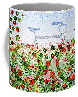 Summer Bicycle Coffee Mug