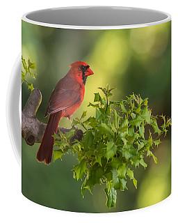 Summer Cardinal New Jersey Coffee Mug