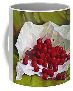 Summer Cherries Coffee Mug
